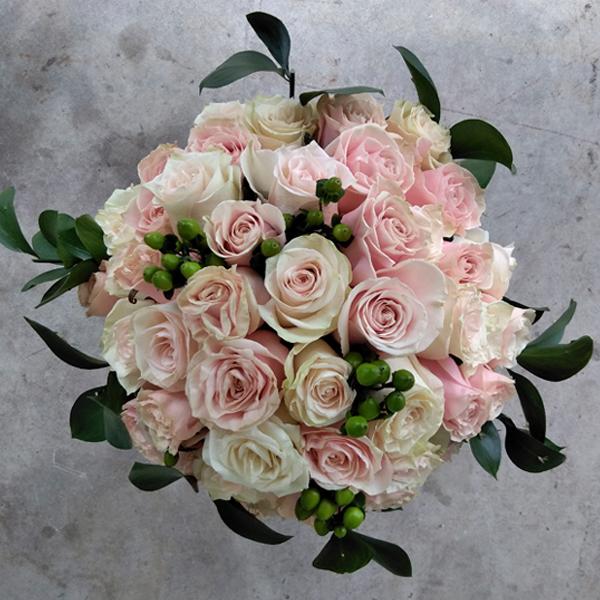 Connubial Roses Bouquet Mia Florist